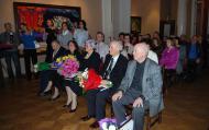 Лауреаты премии (слева направо Ю.Г. Родичев, О.В. Румянцева, Г.Г. Ревазишвили, Ш.А. Амонашвили, Б.А. Мессерер)